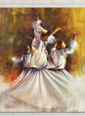 تابلوه مودرن- صوفي - 80*60