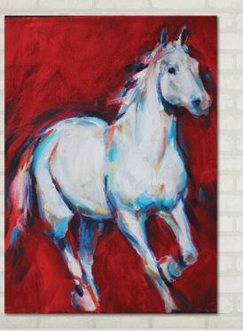 تابلوه مودرن- حصان - 50*70