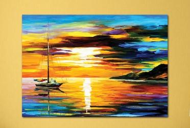 فن رسم قارب