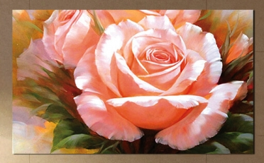 تابلوه مودرن - وردة- 100*60